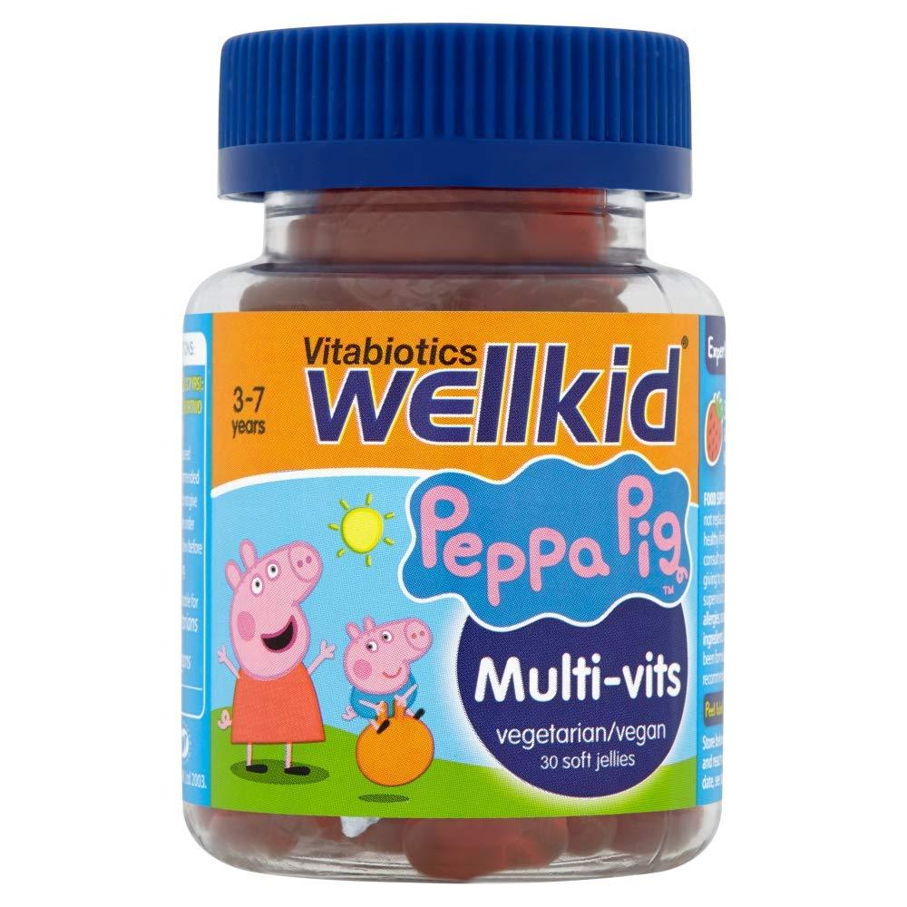 WellKid Vitabiotics WellKid Peppa Pig Multi-Vits 30 Soft Jellies -