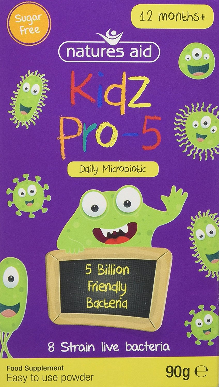 Natures Aid Kids Pro-5 Children's Probiotic Powder -