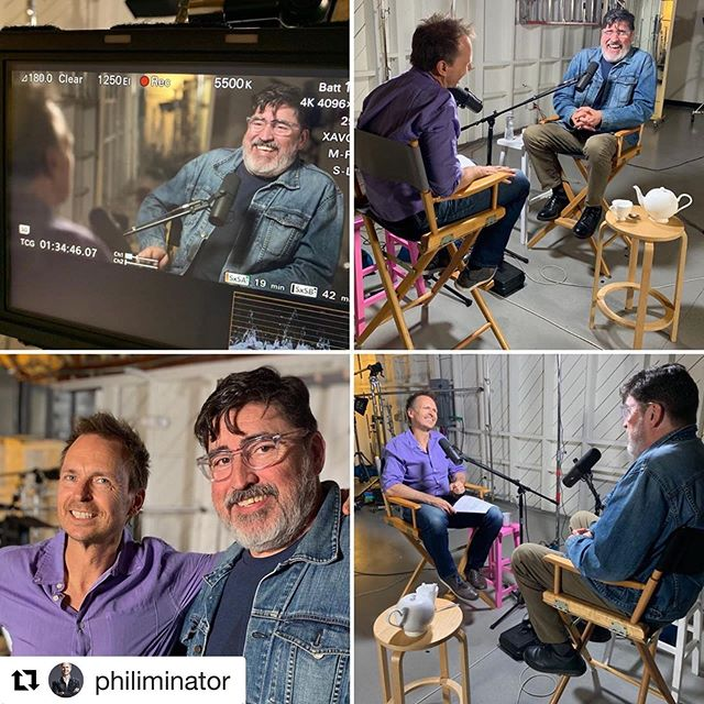 Check out Alfred Molina on Phil Keoghan's podcast where they discuss #SaintJudyMovie ! Now available to rent for $2.99! Limited time only 😉 #Repost ・・・ Loved having time with #FredMolina @fredmolina9953 a master actor who started out getting skewered on his first film with #stevenspeilberg before working on dozens of films including the critically acclaimed independent #saintjudymovie subscribe to hear @buckit with #philkeoghan wherever you get your podcasts and use link in bio to see video #tickitbeforeyoukickit