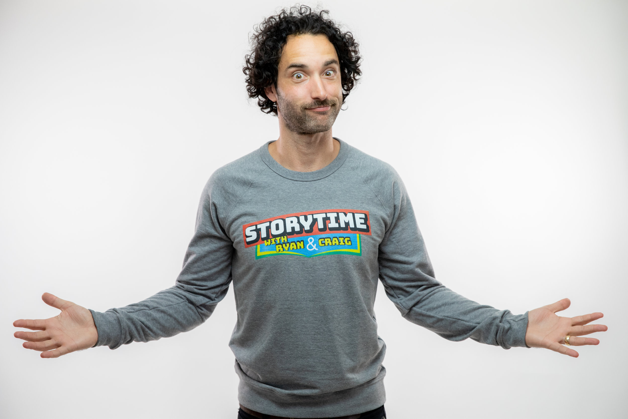 Lightweight Crewneck Sweatshirt - Vintage Heather
