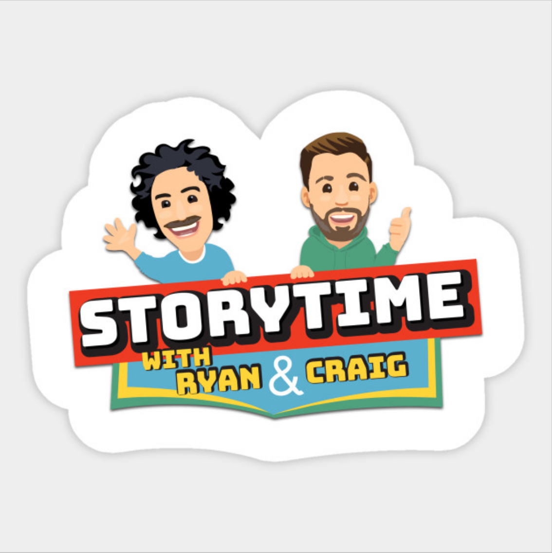 Sticker - Full Storytime Logo