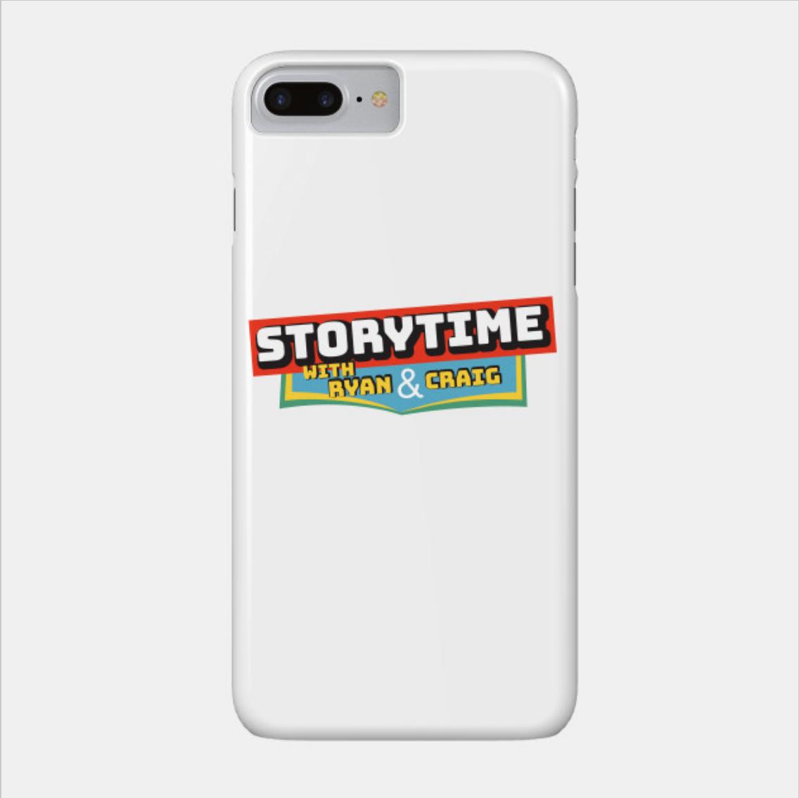 Smartphone Case - Storytime Partial Logo