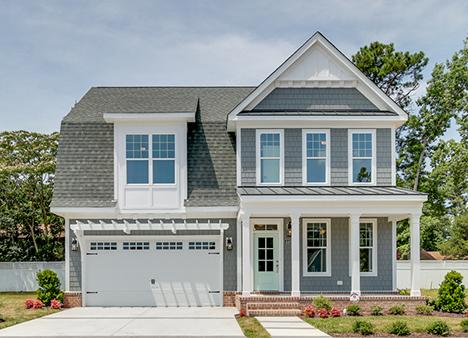 The Newport - BAYVILLE AT LAKE JOYCE4449 Graves Lane I Virginia Beach, VA 23455Bishard Homes