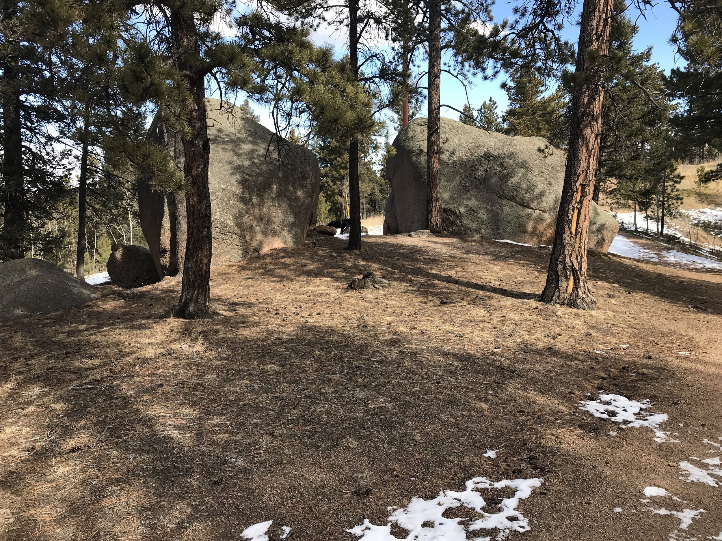 Lovell Gulch - This moderate trail is located just a few miles north of Woodland Park featuring a stream and views of Pikes Peak.