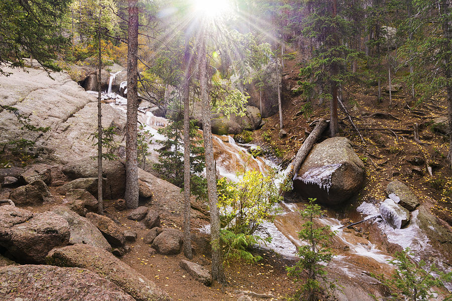 Horsethief Falls - The perfect hike for a family or couple looking for a special memory without the extra work!