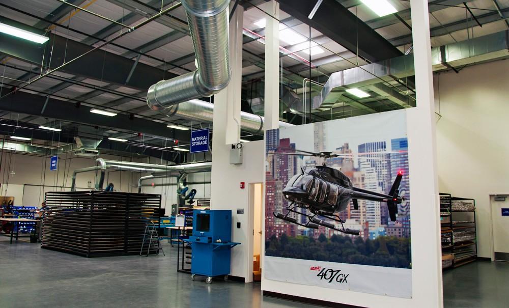 Bell Helicopter Hangar