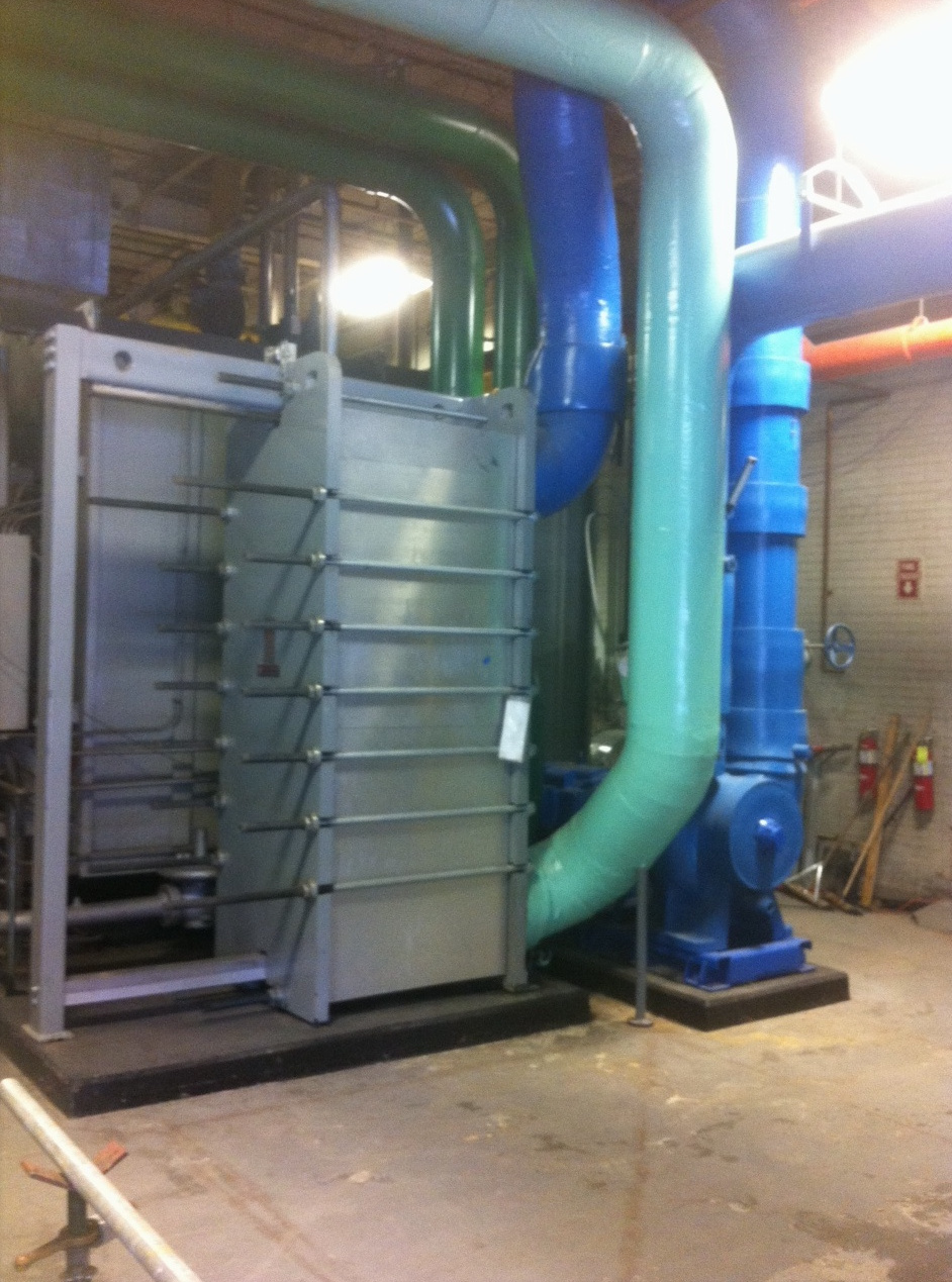 St. Dominic Hospital Central Plant Plate & Frame Heat Exchanger