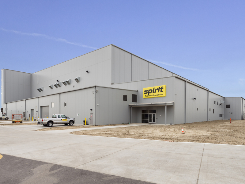 Spirit Airlines  Maintenance Hangar