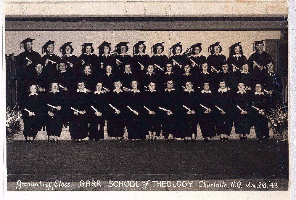 Garr School Of Theology Class of 1943 (Graduation Front).jpg
