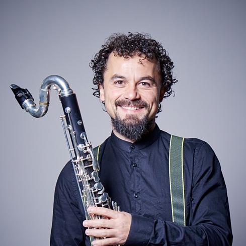 Eduardo Raimundo, clarinete