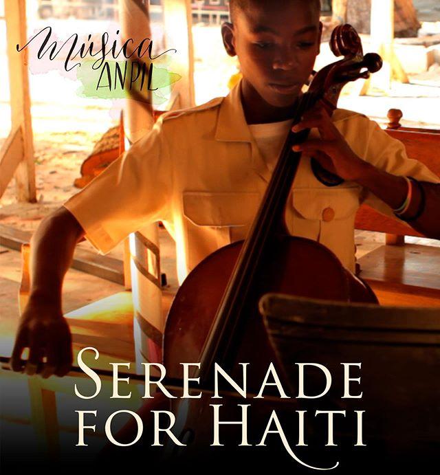 """Nosotros ya hemos apuntado la fecha!!!❤️❤️❤️El sábado 29 de junio a las 12:00 se estrena en @filmotecaes el documental """"Serenade for Haití"""". Se recaudarán fondos para @musicaanpil - la asociación de nuestra contrabajista @lamujerdefrac  Allí nos veremos!!! ❤️❤️❤️❤️❤️"""