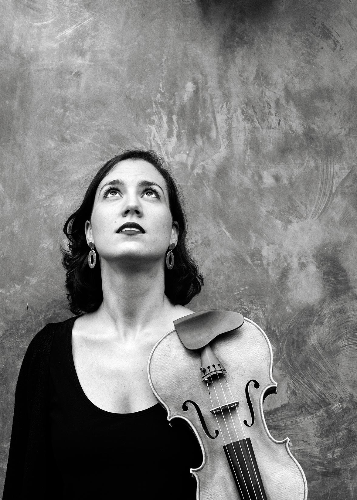 Blanca Fernández, violin