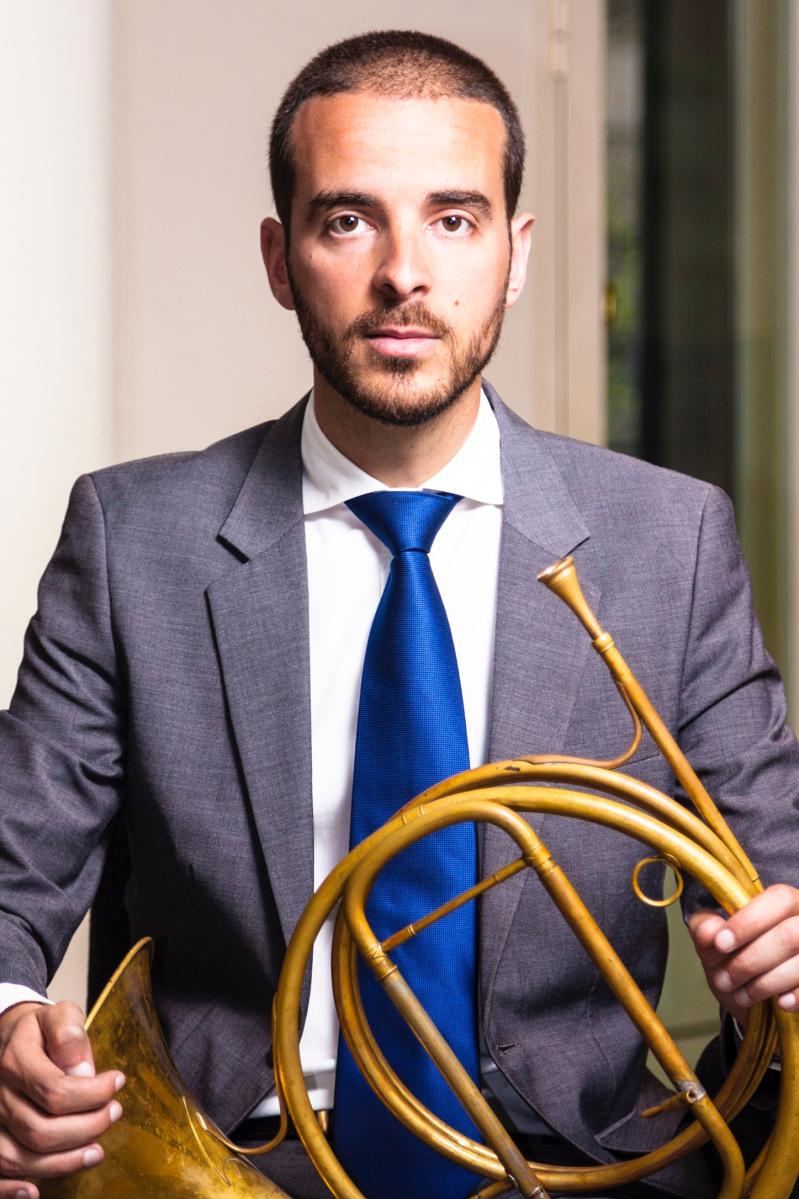 Ricardo Rodríguez, horn