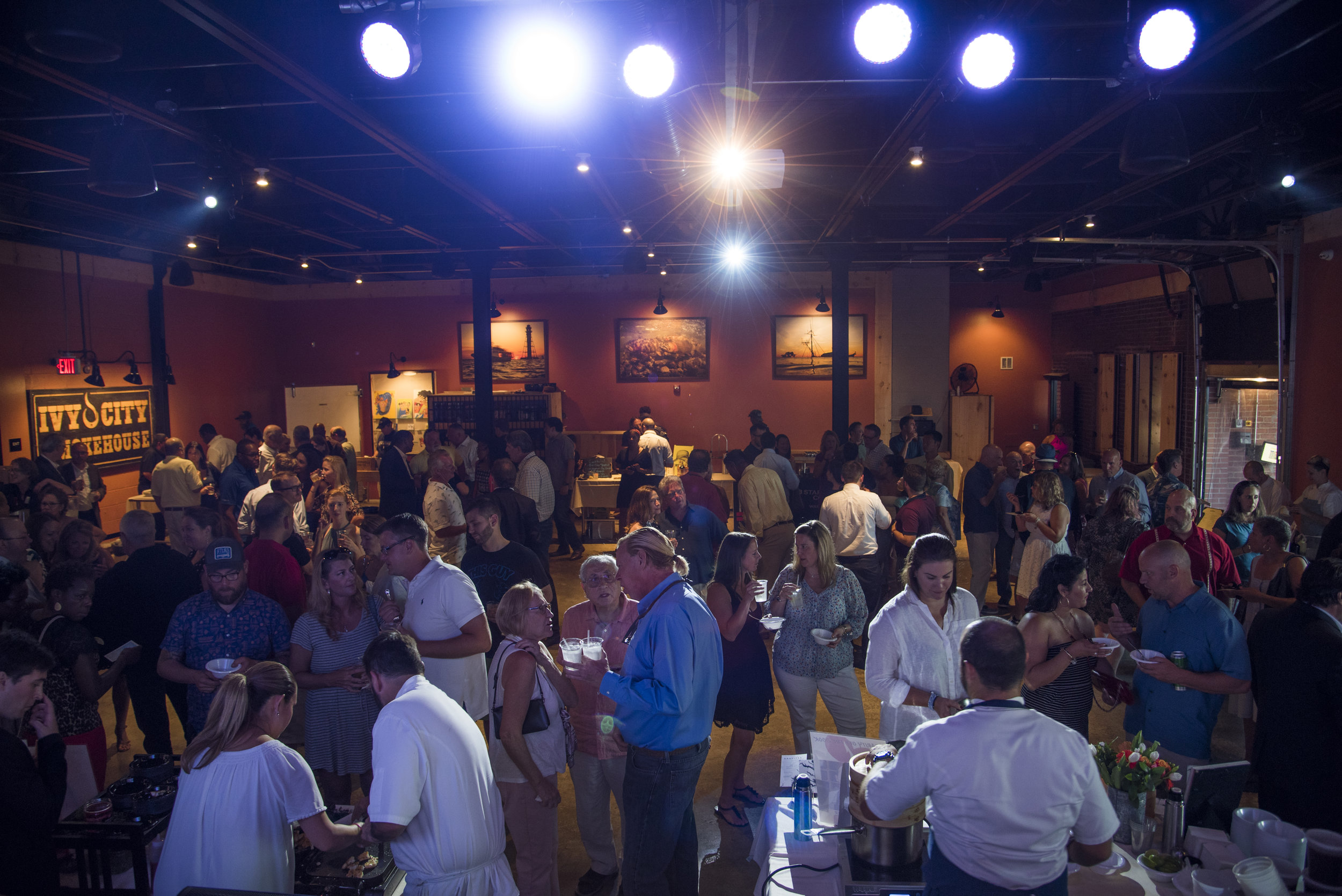 Our Audience - Our event has built a loyal following through the years with a mix of food lovers, industry professionals, restaurateurs, business owners, and philanthropic champions. The event circulates 600+ people each year that share in the value of giving back to their community and local non-profits. 100% of net proceeds support the 6 local charities each year.