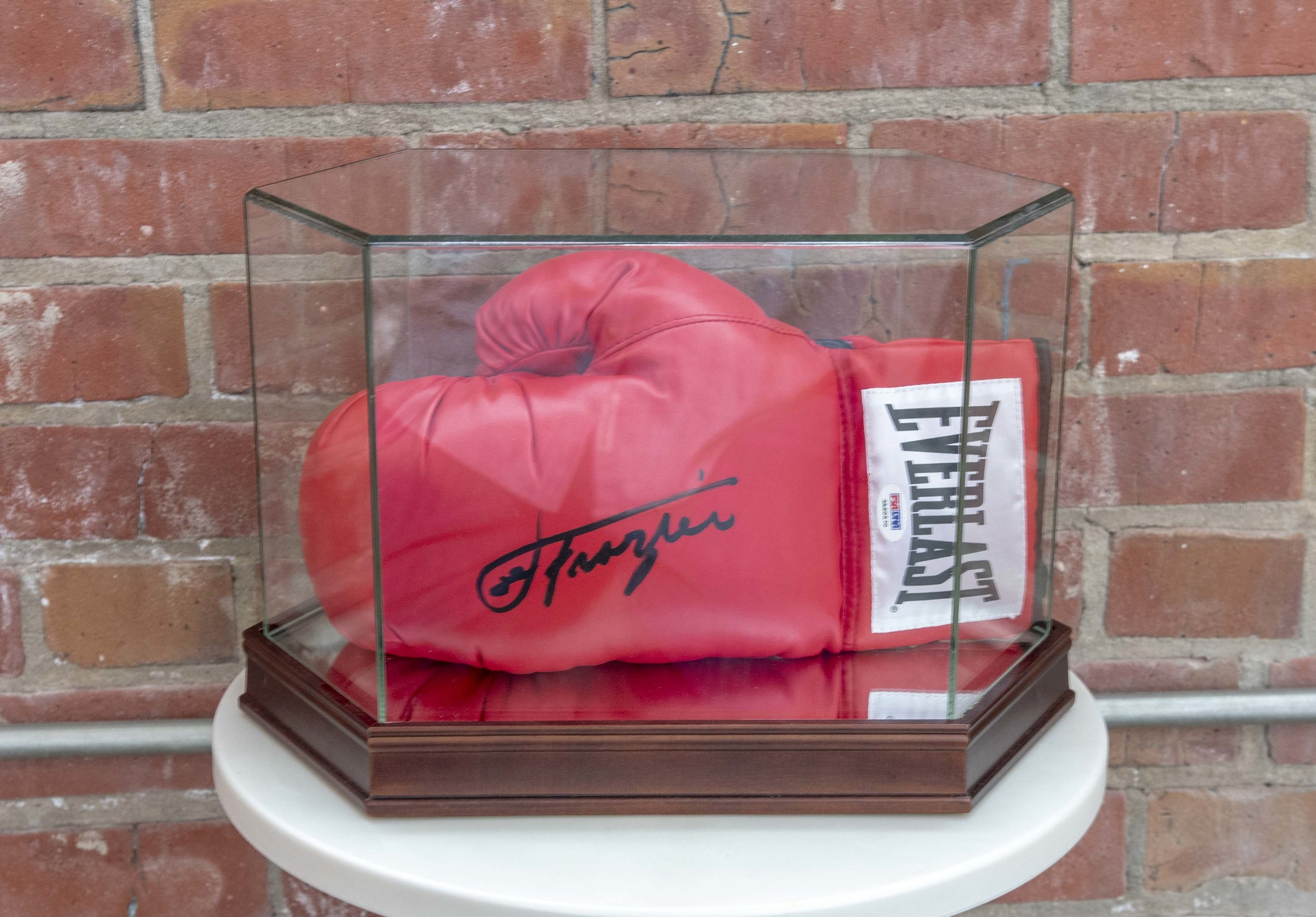 Joe Frazier Signed Boxing Glove