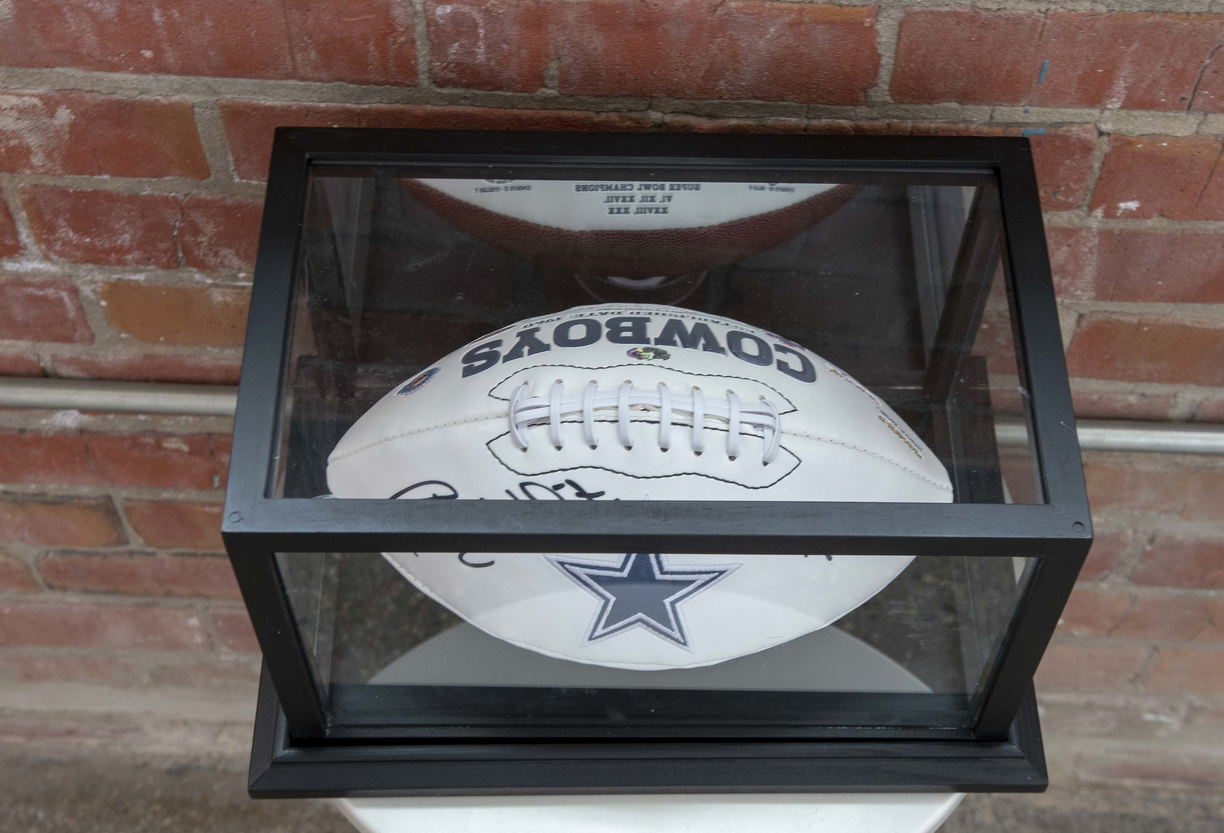 Dallas Cowboy Randy White Signed Football