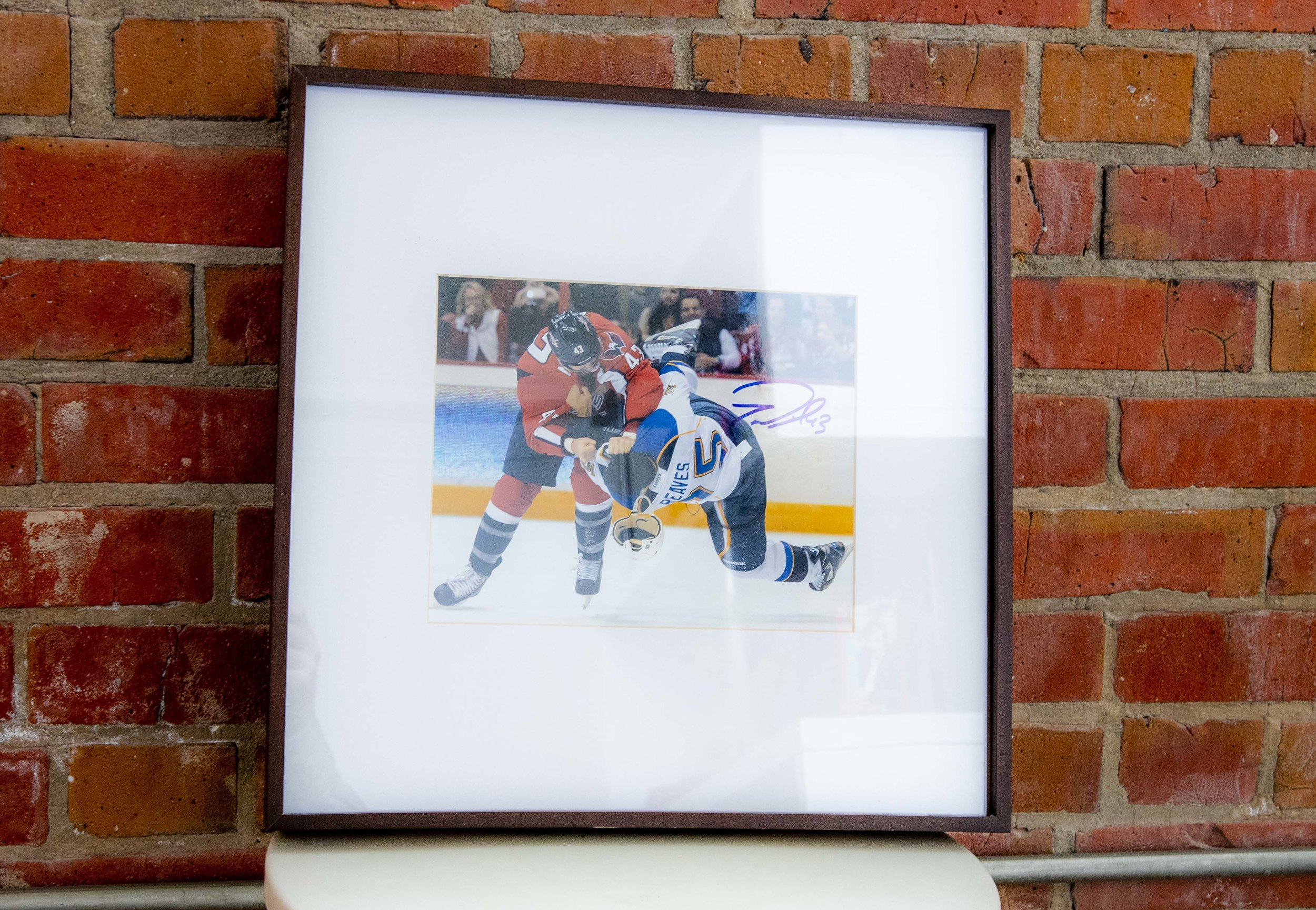 Capitals Tom Wilson Signed Picture