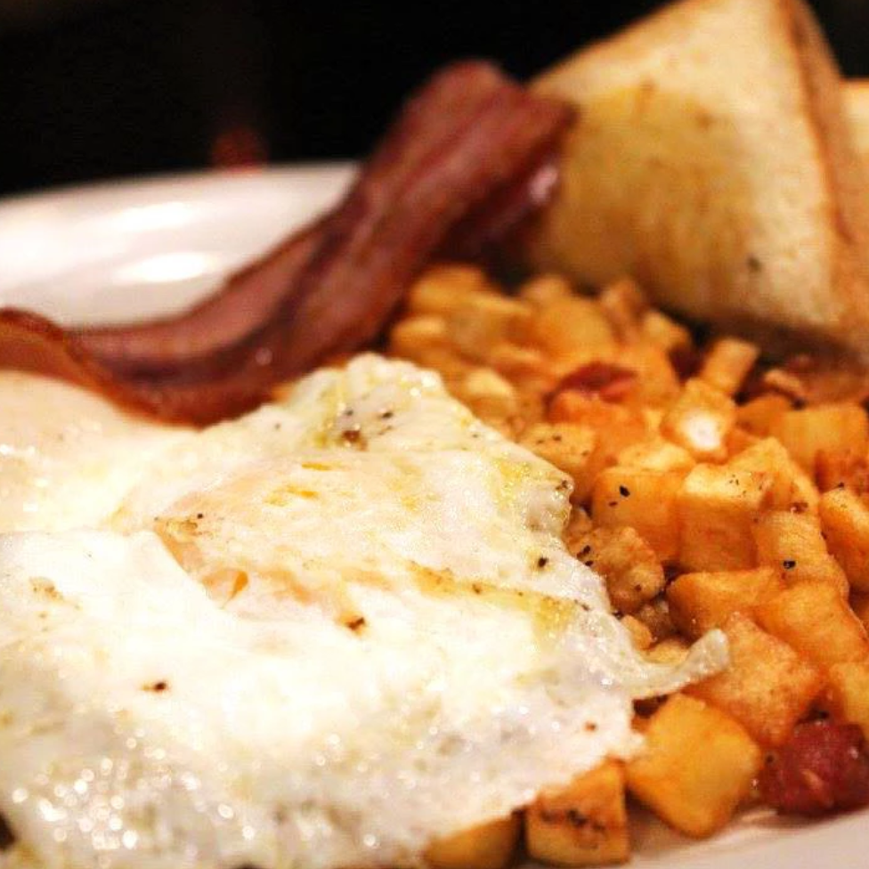 Breakfast:Weekends 9am - 1pm - Now serving weekend breakfast! Come down and feast on the best hangover cure Pullman has to offer. A little hair of the dog never hurt anybody.