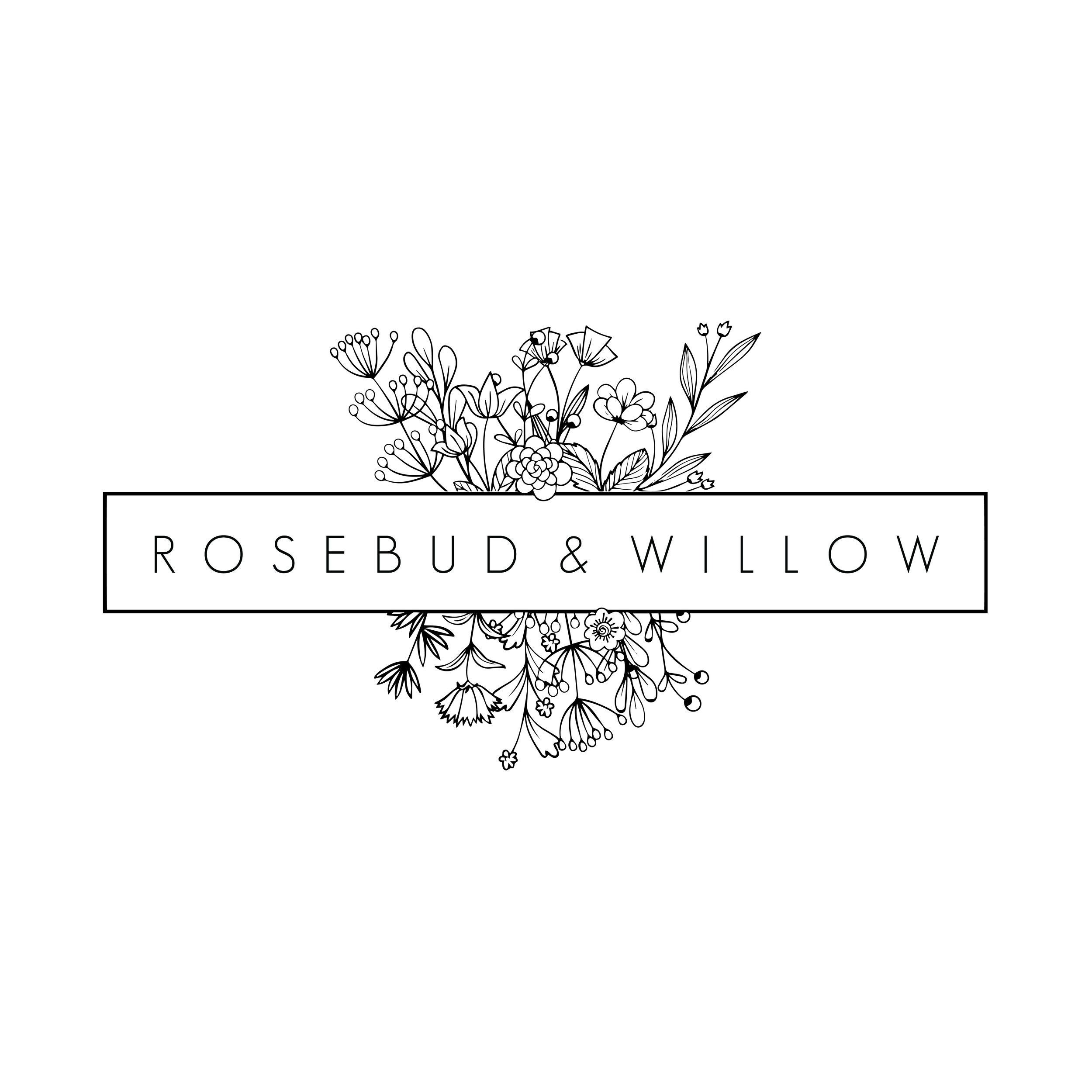 """Rosebud & Willow - """"Tammy has just completed a new logo design for my business which I absolutely love!!! She was fantastic to work with, very accommodating and patient and full of excellent ideas. I would highly recommend her and her services. Thanks so much!!"""""""