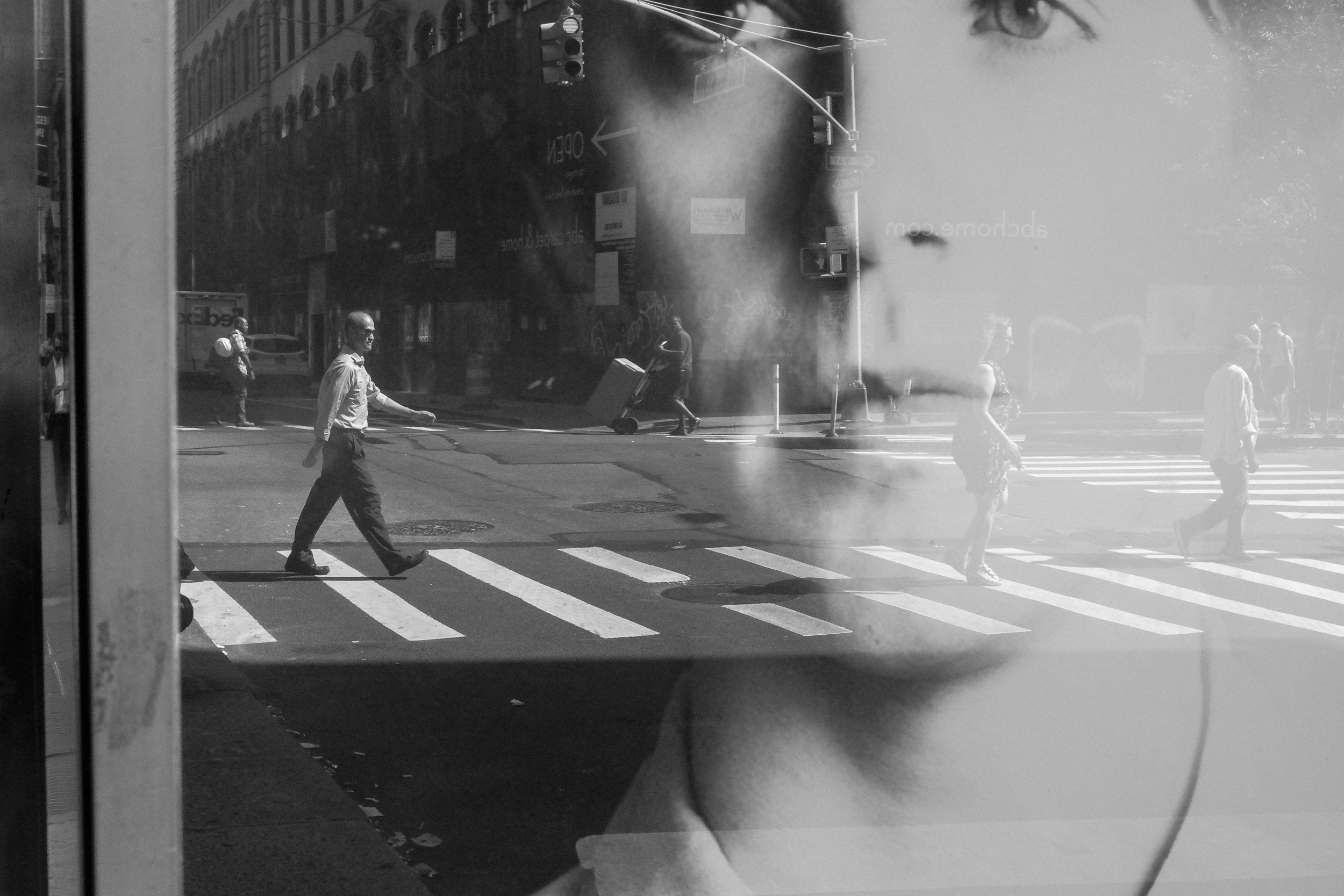 """Reflections - """"Puddles, car mirrors, store fronts… the possibilities are endless with reflective surfaces. Utilize them as a way to add layers to your image."""""""