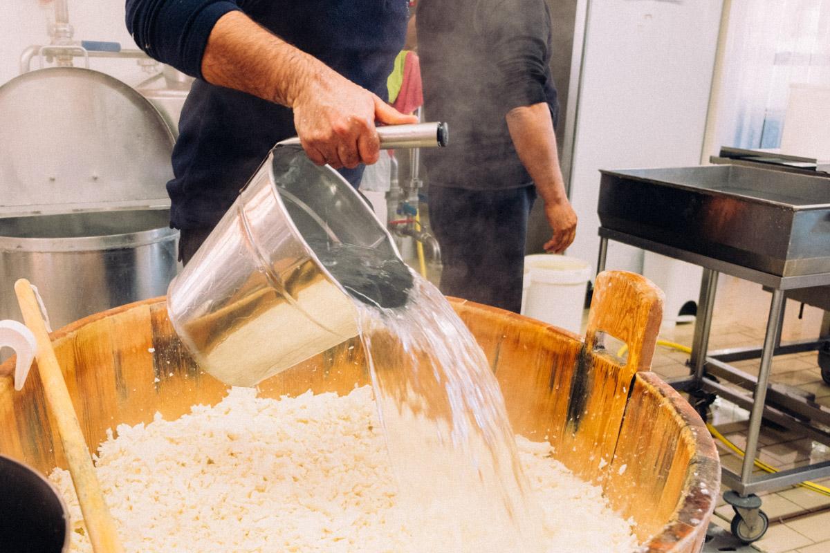 Fase di cottura della pasta