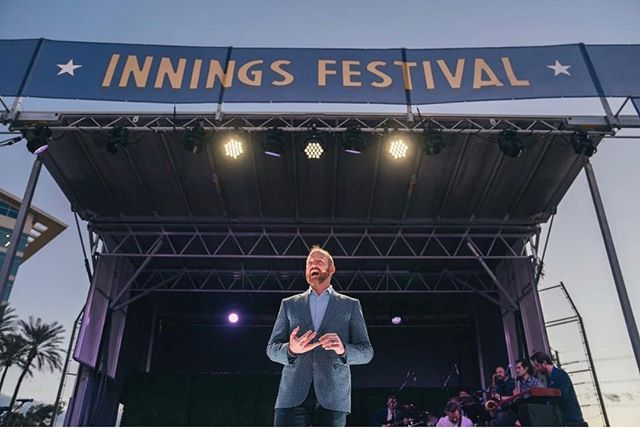 Thank you to @inningsfest, our sponsor @sloan_valve and everyone who came out to see #offthemound this weekend! Photo cred: @rohofoto