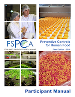 Guide to pathogenic bacteria in food from the FSPCA Manual
