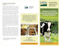 USDA Inspection Requirements Overview
