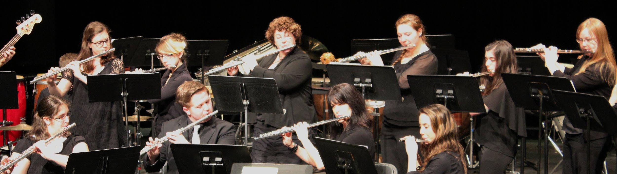 SPU Flute Ensemble 2013