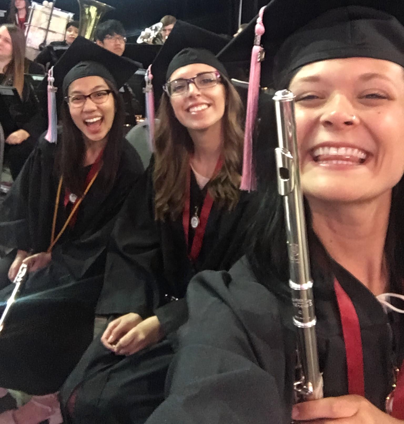 SPU Flute Grads 2017
