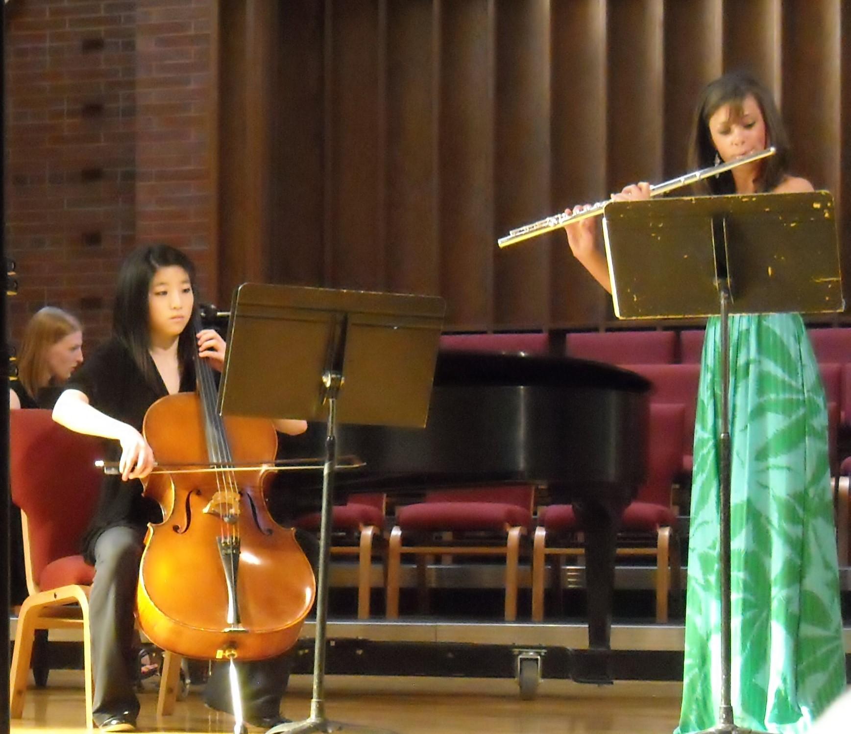 Lauren in Recital