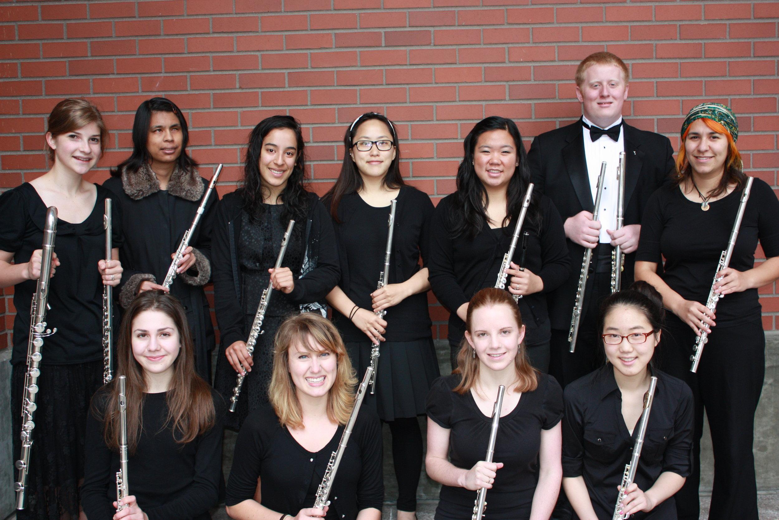 SPU Flute Ensemble with Alana