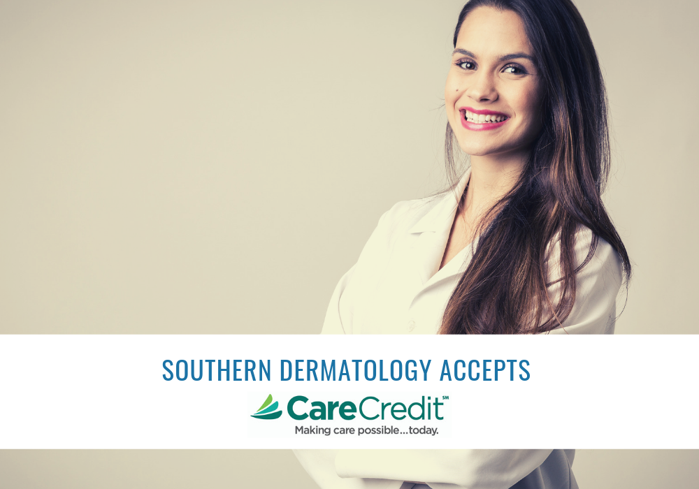 CareCredit Financing in Raleigh, NC at Southern Dermatology