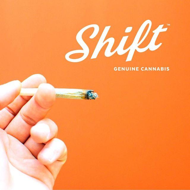 Passing you this J today, because #shiftisforsharing! ••• #genuinecannabis #shiftmates #weareflowerpeople #jpaq #cannabiscommunity #smokeweedeveryday #dream #wander #explore #thrive