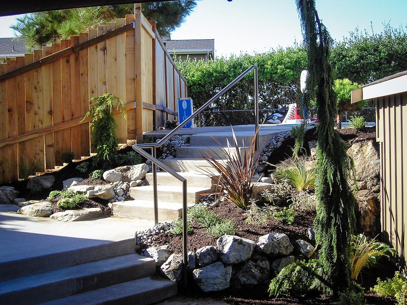 - Handrails