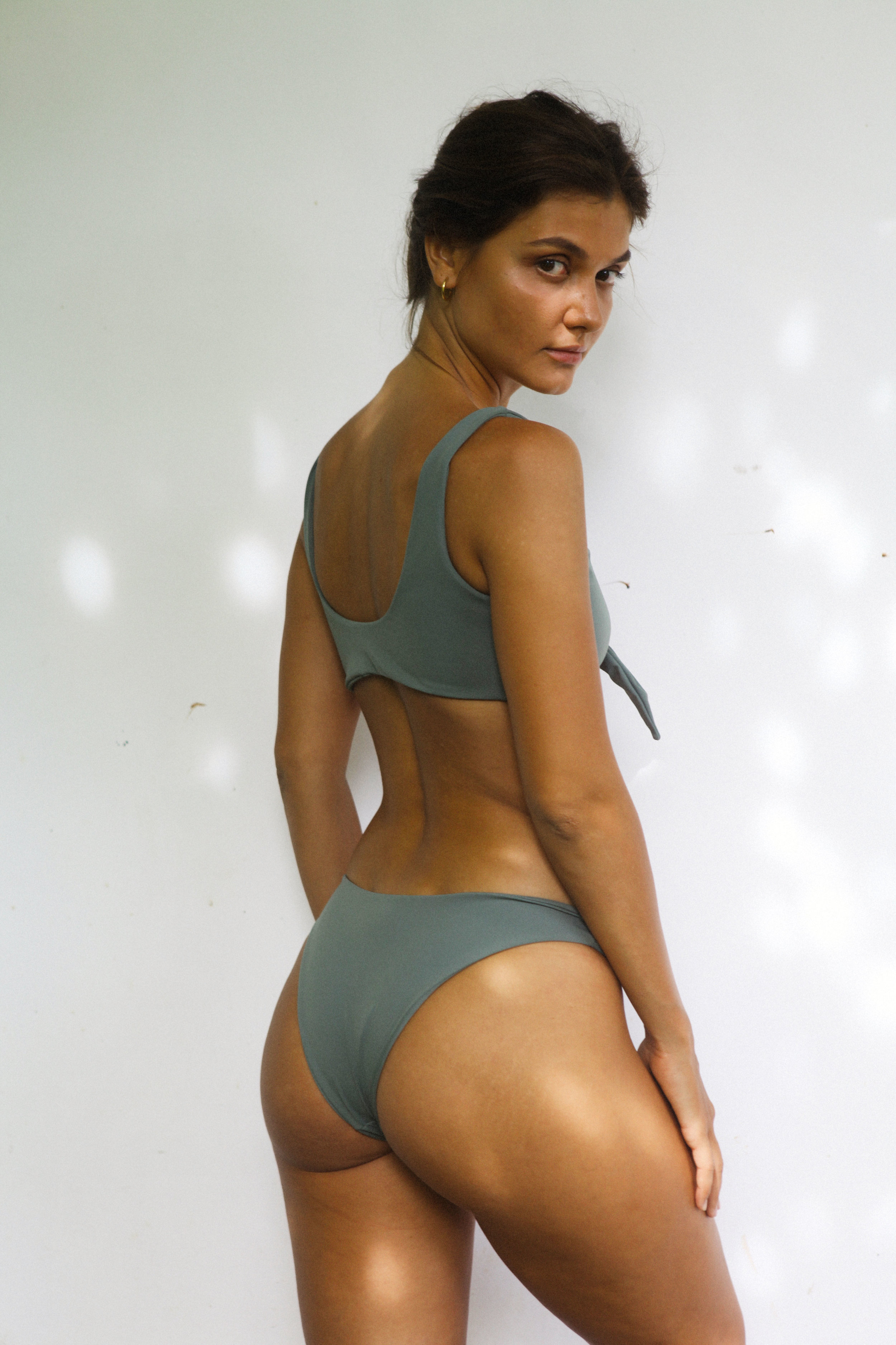 bikini verde priedra