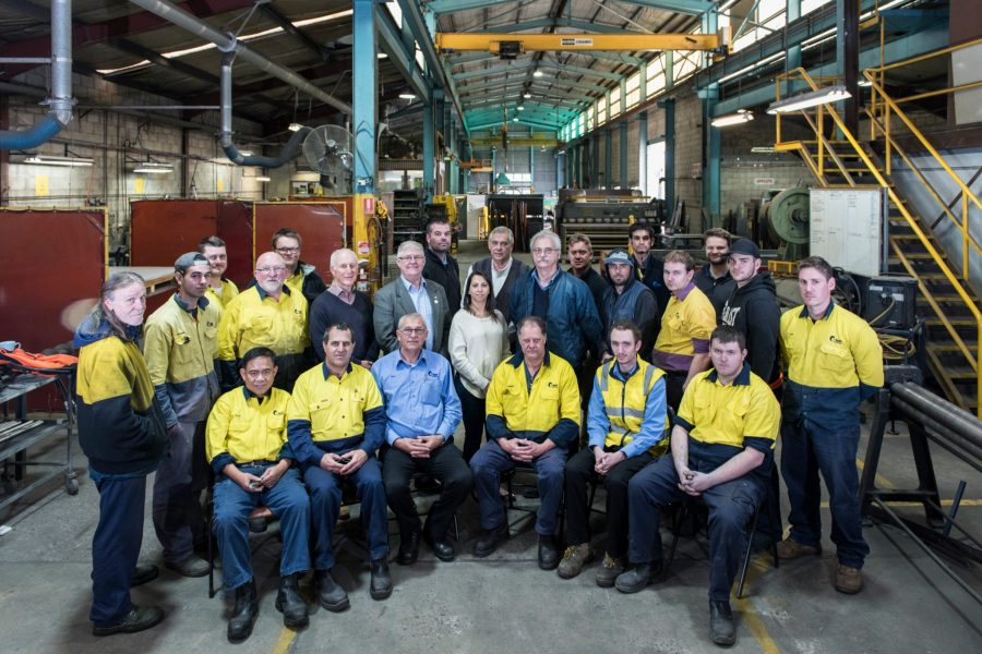 In 2017, all staff in  C-Mac  agreed to become business owners and the company transferred from being family owned for over 50 years to a Manufacturing Worker Co-operative as this socially responsible succession model was found to be the best way to sustain and grow a manufacturing business in Australia.