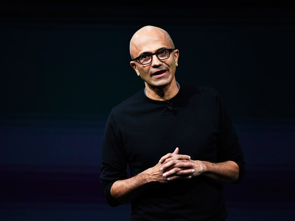 "Microsoft CEO Satya Nadella said the company will continue to work with ""institutions that we have elected in democracies to protect the freedoms we enjoy."""