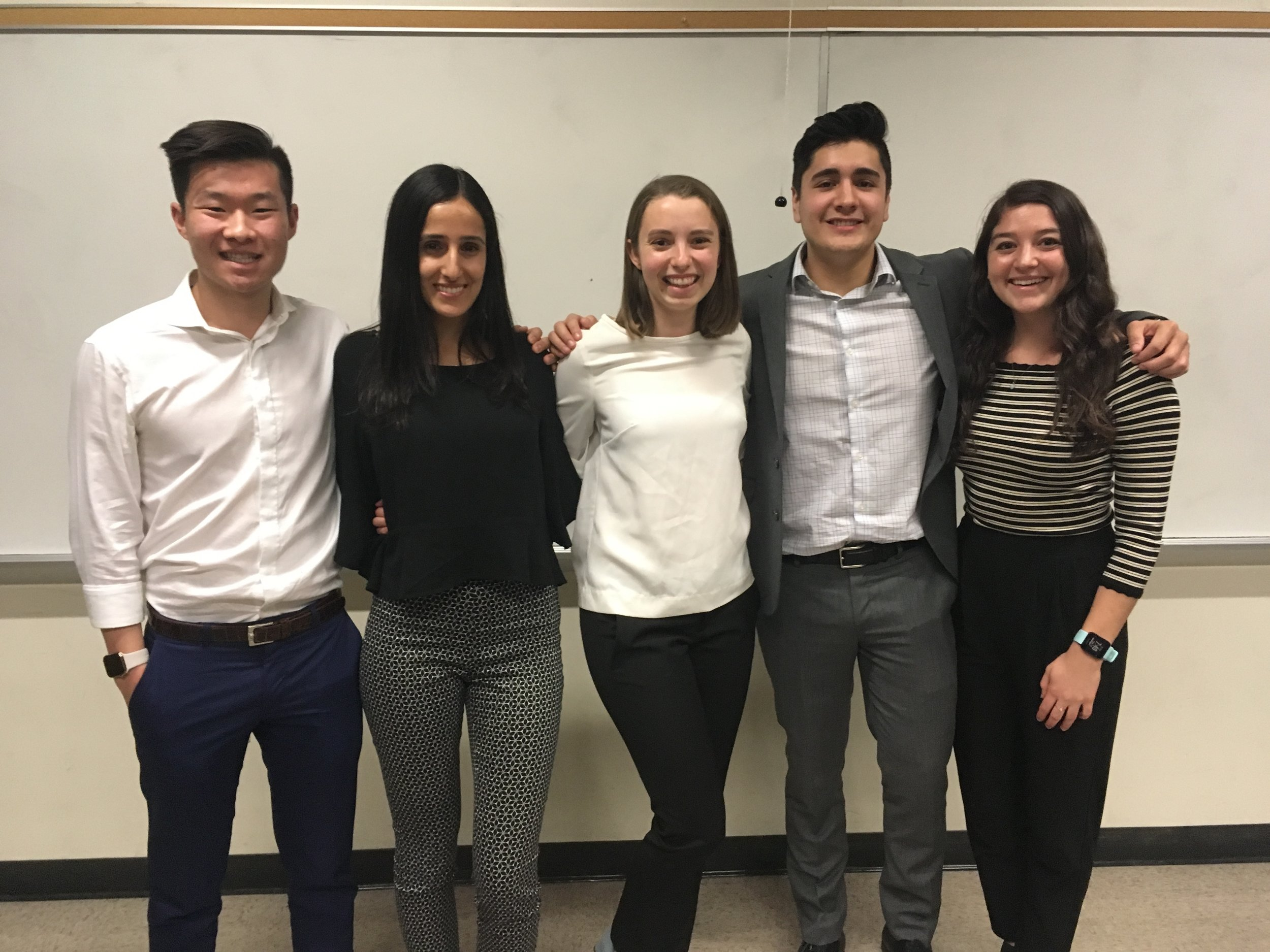 UCLA students Max, Dana, Anna, Rudy, and Tula supported our organization in part of the Social Enterprise Academy