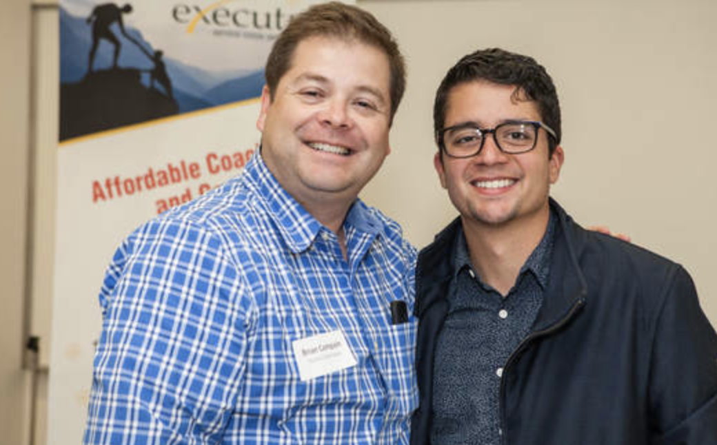 Board Vice President, Brian Campain, and Executive Director, Richard Reyes
