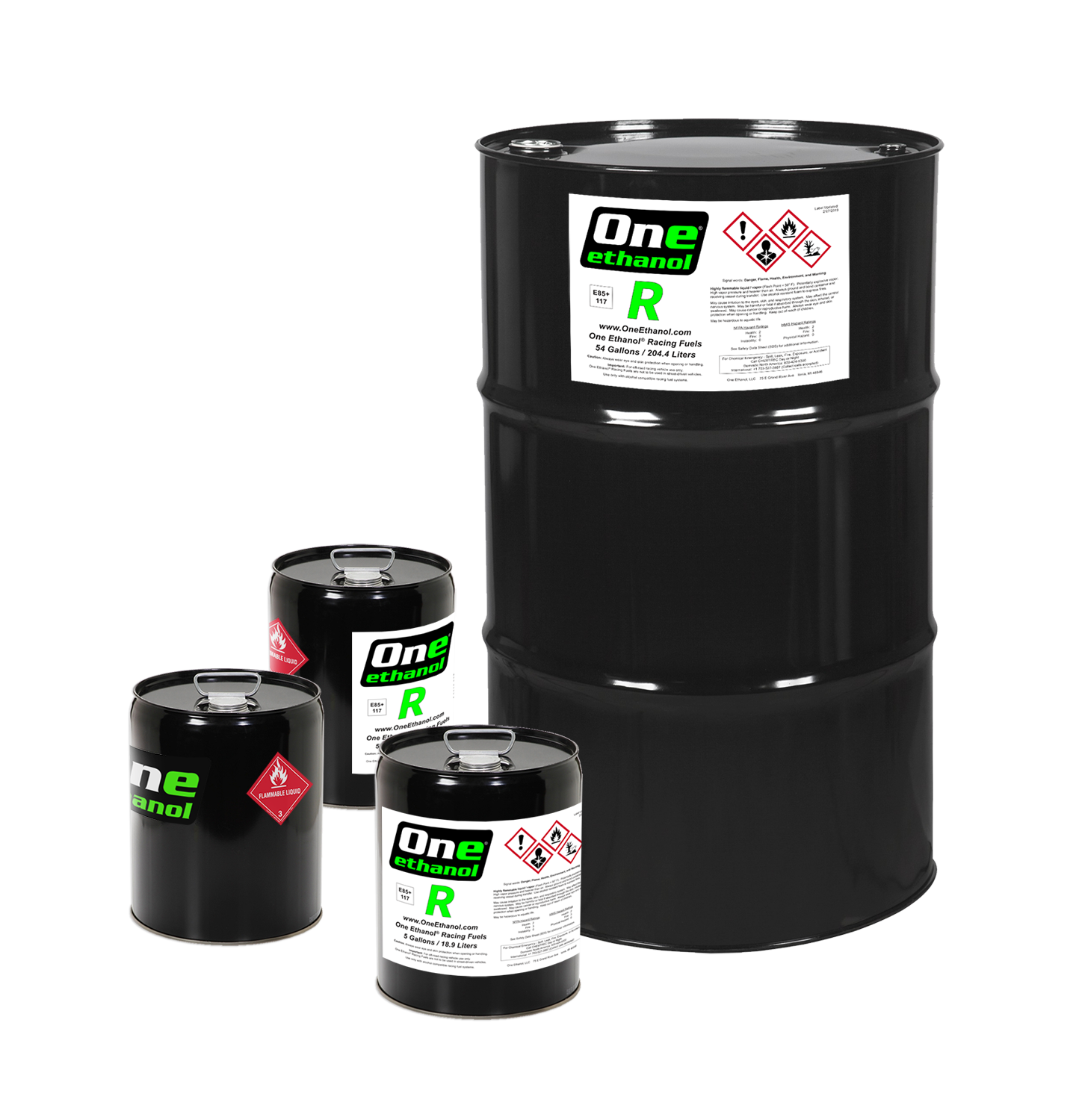 "Product: R - Applications: High Powered Forced Induction, Naturally Aspirated, and NitrousEthanol Content: Over 85%Effective Octane: 117+Specific Gravity: 0.795 at 68° FStreet Legal: NoNo MTBE, nitromethane, or leadOne Ethanol ""R"" is a specially formulated ethanol blend intended for ultra high performance racing engines. R was designed to be used in forced induction, nitrous, and N/A engines requiring race fuels with an octane rating of 116 or higher.R has powered drag radial race cars with small displacement engines running 6 second 1/4 mile times at over 200 MPH."