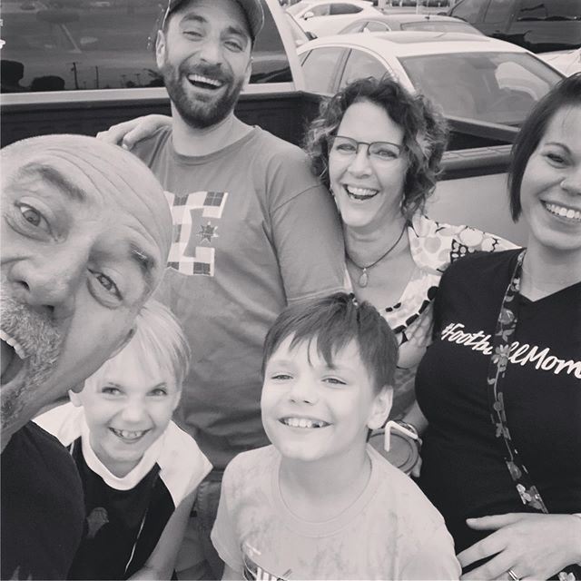 What you do when your first born turns 35...you photo bomb!  #firstborn #proudmama #happybirthday #loveyourboy #celebratelife #loveyourfamily #beautifullyrenewedlife