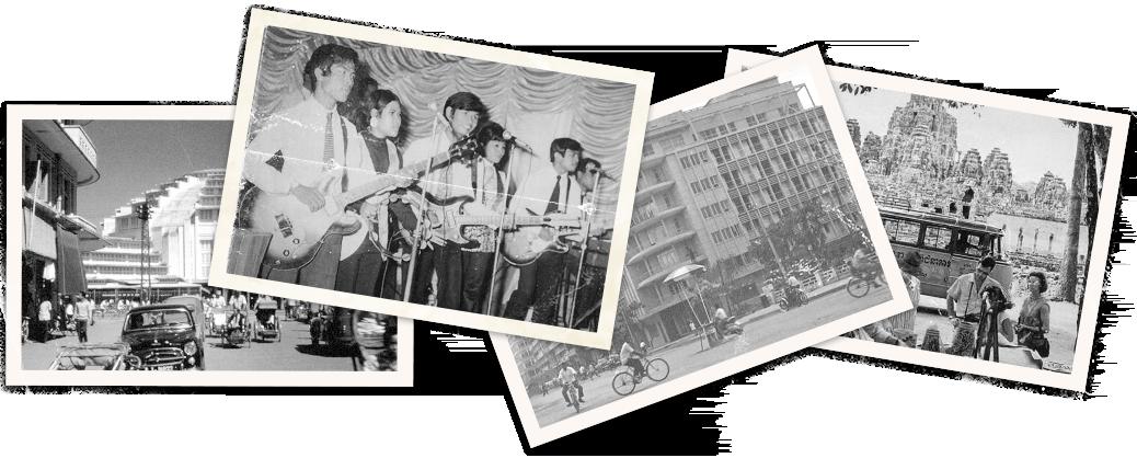 Vintage Photos of Cambodia