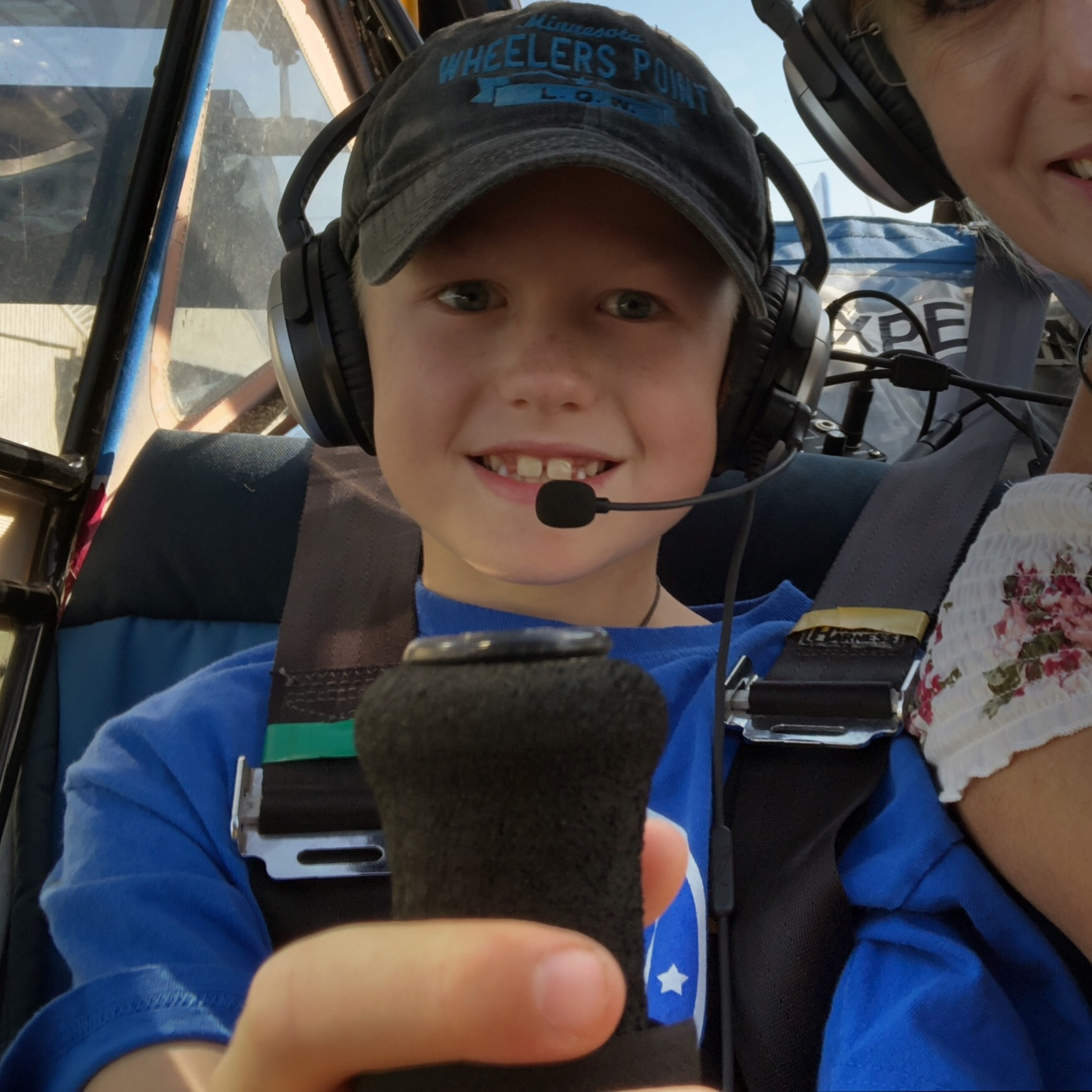Sign up at the Fly-In for your Young Eagles Flight (free, held Aug. 19th) .  It's an experience of a lifetime, and can launch you right into getting your own pilot's license. We'll show you how, and give you the tools to get started! Over 17? The Eagles Program is the same thing with great extras! We'll explain everything and even point you towards scholarships and funding. Relax, we'll help you along as you spread your wings and FLY!