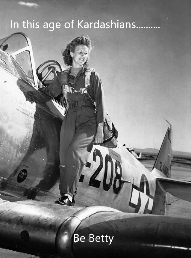 Here the many stories of WASP Betty Wall Strofus.