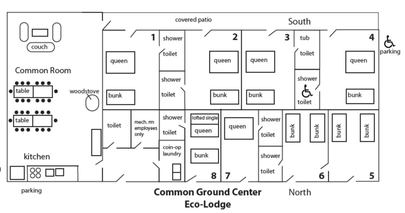 ecolodge map