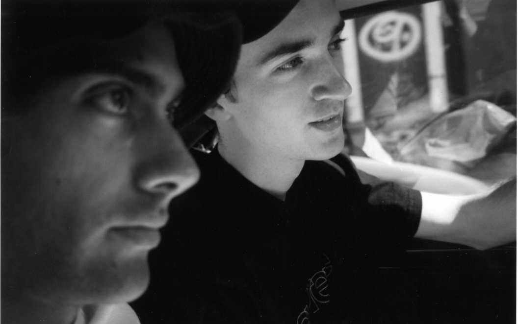 Alex with artist KAWS