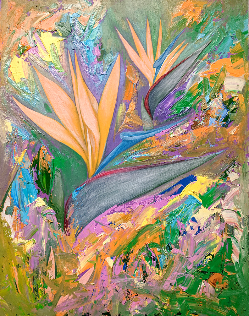 """Bird of Paradise II"""