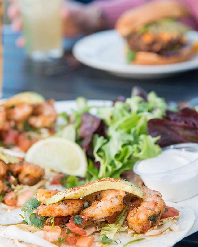 Wild Ga. Shrimp Tacos are always a good idea! . . . . . . . pc @paprikasouthern  #eatkayak #kayakkafe #kayaksandwiches #eatrealfood #whattodoinsavannah #savannahgeorgia #downtownsavannah #midtownsavannah #healthyeating #healthyliving #healthytacos #shrimptacos