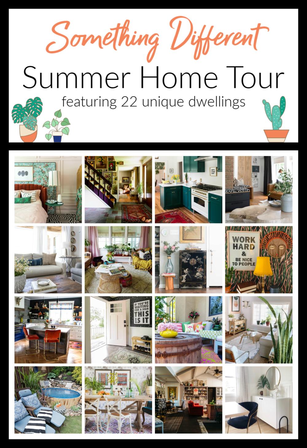 Summer Home Tour   Peep my Pad — Burnett Bungalow